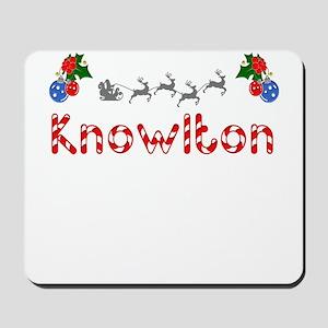 Knowlton, Christmas Mousepad