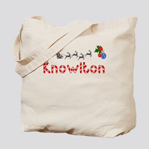 Knowlton, Christmas Tote Bag