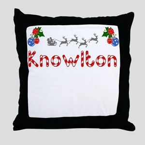 Knowlton, Christmas Throw Pillow