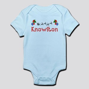 Knowlton, Christmas Infant Bodysuit