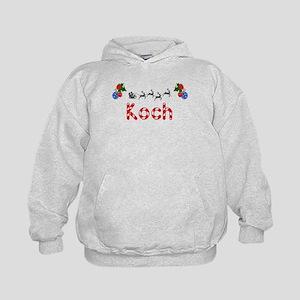Koch, Christmas Kids Hoodie