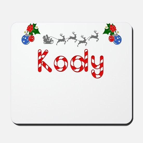 Kody, Christmas Mousepad
