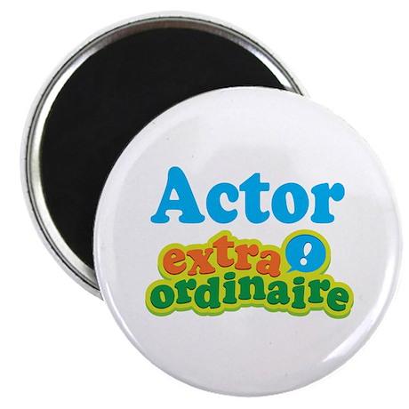 """Actor Extraordinaire 2.25"""" Magnet (10 pack)"""
