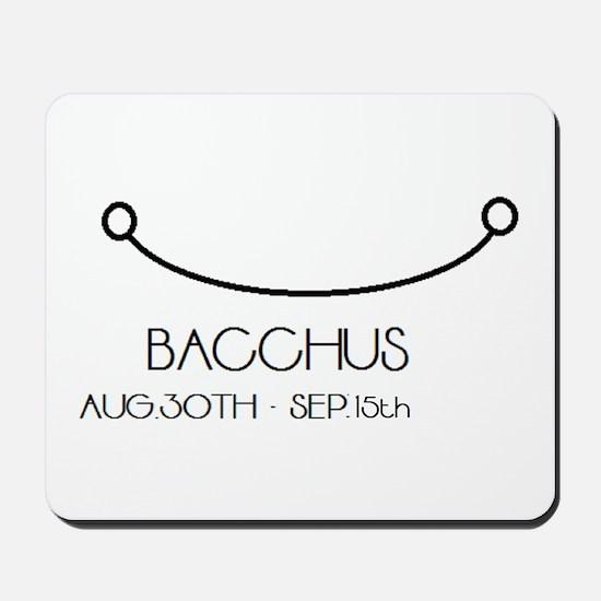 Bacchus Asterian astrology Mousepad