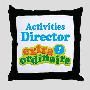 Activities Director Throw Pillow