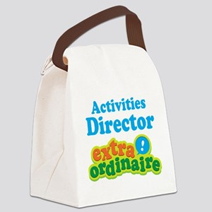 Activities Director Canvas Lunch Bag