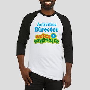 Activities Director Baseball Jersey