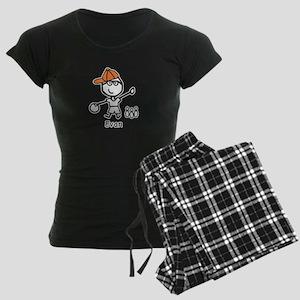 Boy & Bowling - Evan Women's Dark Pajamas