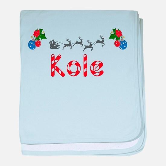 Kole, Christmas baby blanket
