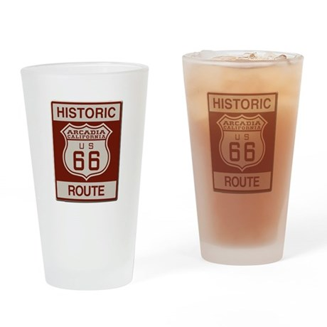 Arcadia Route 66 Drinking Glass
