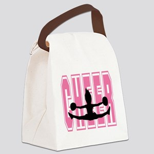 Cheer Toe Toch Canvas Lunch Bag