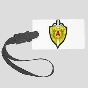 Alpha Group emblem Large Luggage Tag