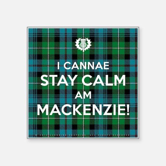 "MacKenzie Square Sticker 3"" x 3"""