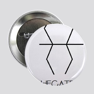 """Hecate Asterian astrology 2.25"""" Button"""