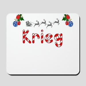 Krieg, Christmas Mousepad