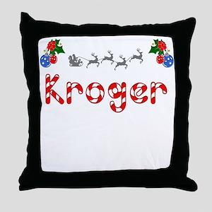 Kroger, Christmas Throw Pillow
