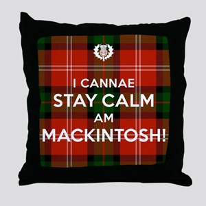 MacKintosh Throw Pillow