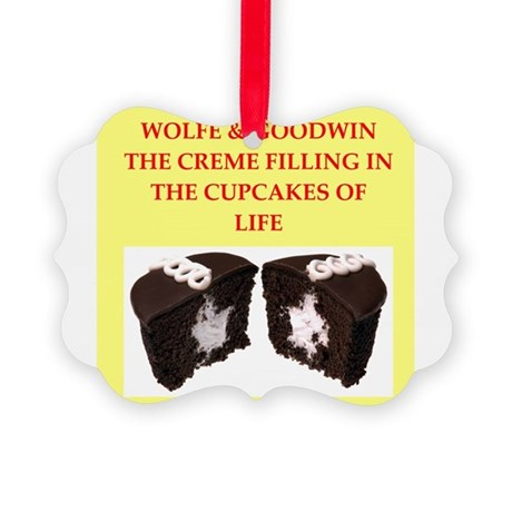 wolfe and goodwin Picture Ornament