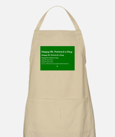 If you can read this you havent drank enough Apron