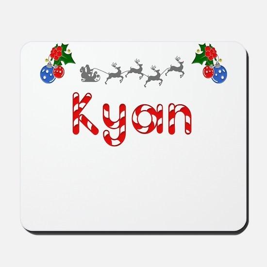 Kyan, Christmas Mousepad