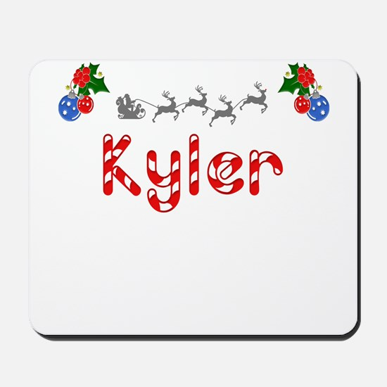 Kyler, Christmas Mousepad