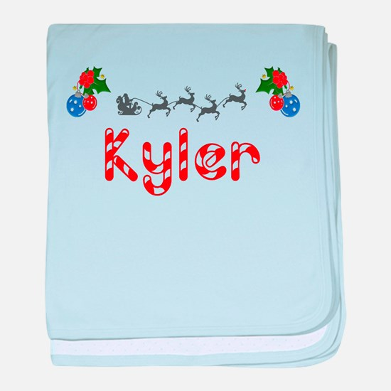 Kyler, Christmas baby blanket