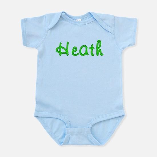 Heath Glitter Gel Infant Bodysuit