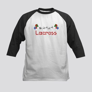 Lacross, Christmas Kids Baseball Jersey