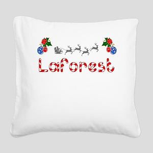 Laforest, Christmas Square Canvas Pillow