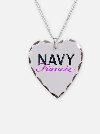 Navy Fiancee Necklace