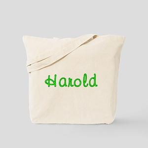Harold Glitter Gel Tote Bag