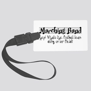 Marching Band Large Luggage Tag