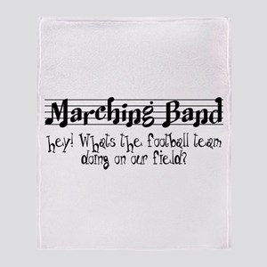 Marching Band Throw Blanket