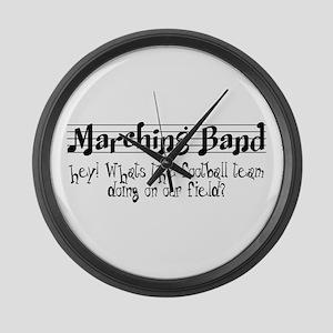 Marching Band Large Wall Clock
