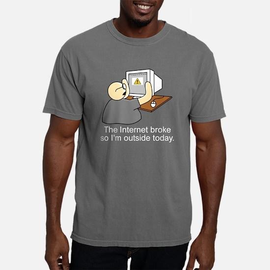 internet shirt dark.png Mens Comfort Colors Shirt