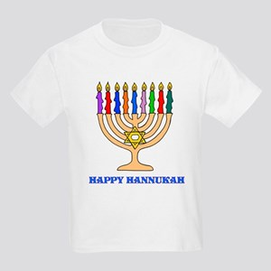 Hannukah Menorah Kids T-Shirt