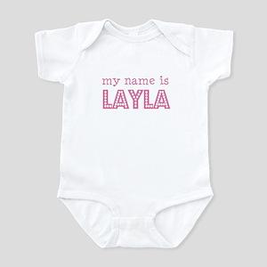 My name is Layla Infant Bodysuit