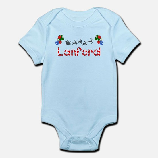 Lanford, Christmas Infant Bodysuit