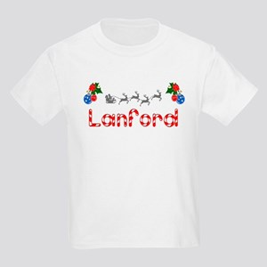 Lanford, Christmas Kids Light T-Shirt