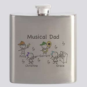Musical Dad Flask