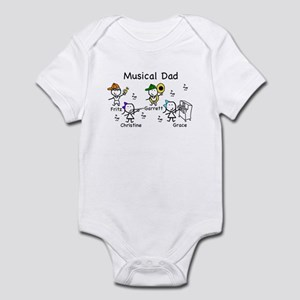 Musical Dad Infant Bodysuit