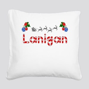 Lanigan, Christmas Square Canvas Pillow
