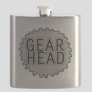 'Gear Head' Flask