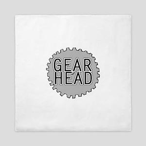 'Gear Head' Queen Duvet