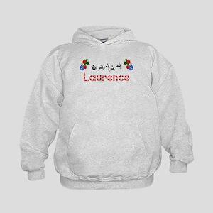 Laurence, Christmas Kids Hoodie