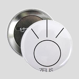 """Zeus Asterian astrology 2.25"""" Button"""