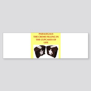 paralegal Sticker (Bumper)