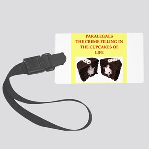 paralegal Large Luggage Tag