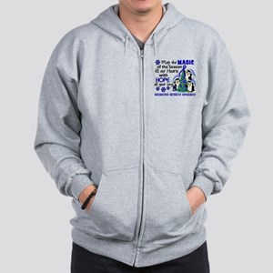 Holiday Penguins RA Zip Hoodie
