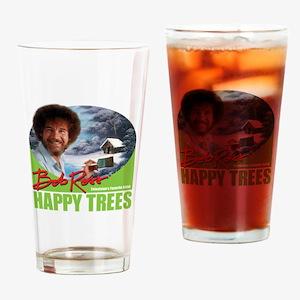 Bob Ross Drinking Glass